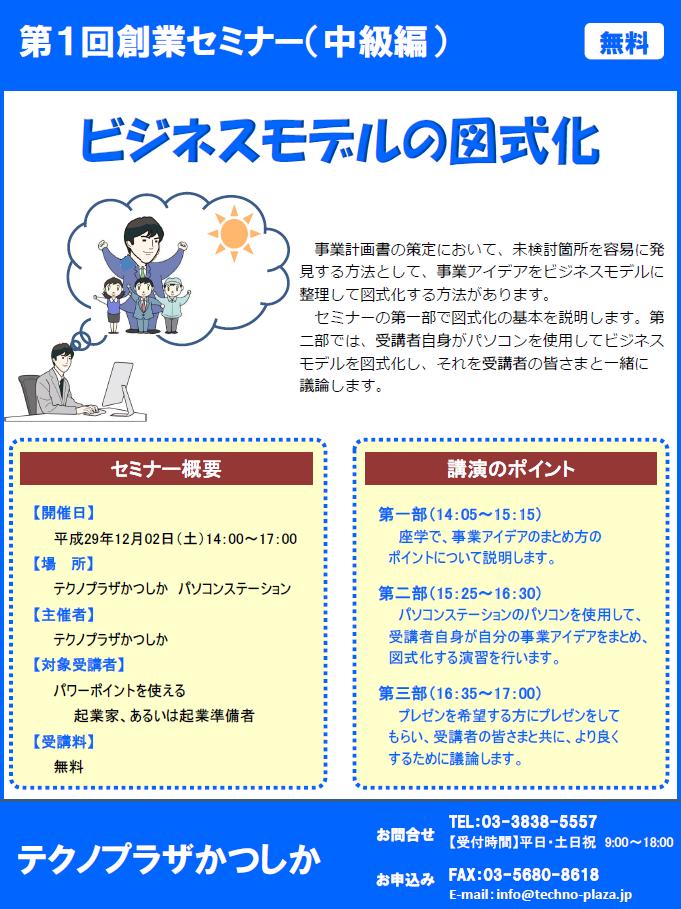 第1回創業セミナー(中級編)